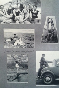 A page from the Pomona College Yearbook
