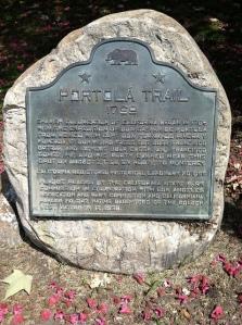Elysian Park Plaque along Portola Trail